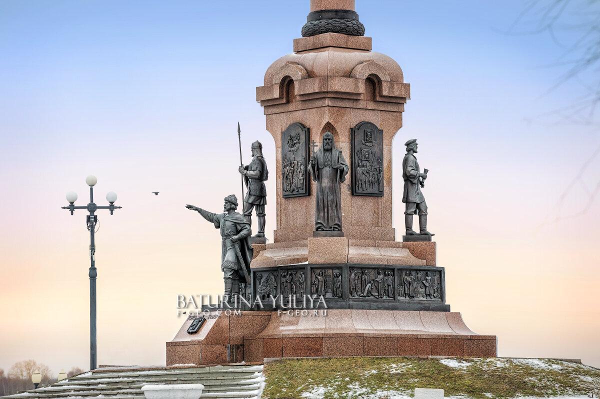 Памятник 1000 лет Ярославлю - Юлия Батурина