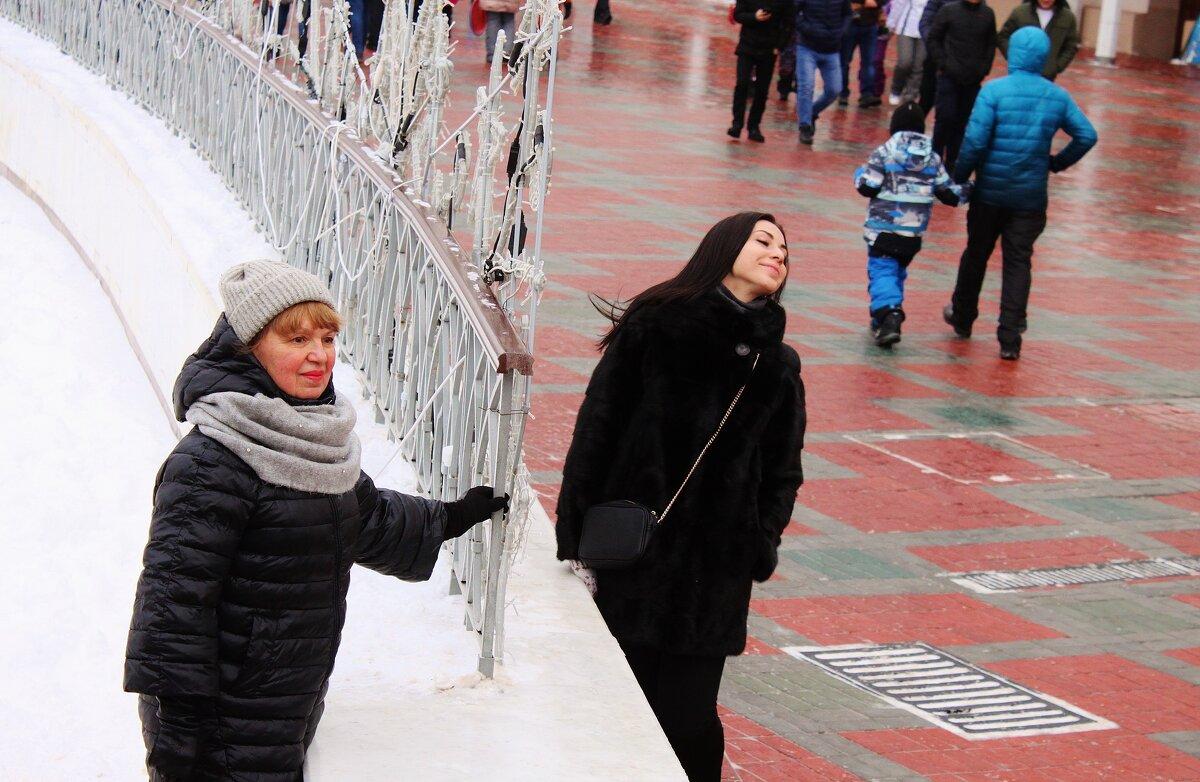 На фоне мечети. - sav-al-v Савченко
