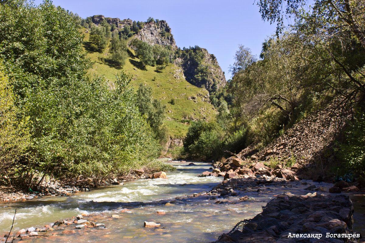 река Хасаут - Александр Богатырёв