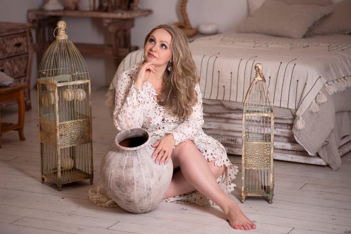 опять Я ) в белом платье.... - Ирина Кулага