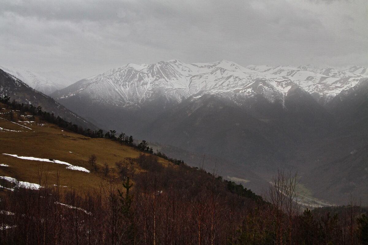 Серый горный пейзаж - M Marikfoto