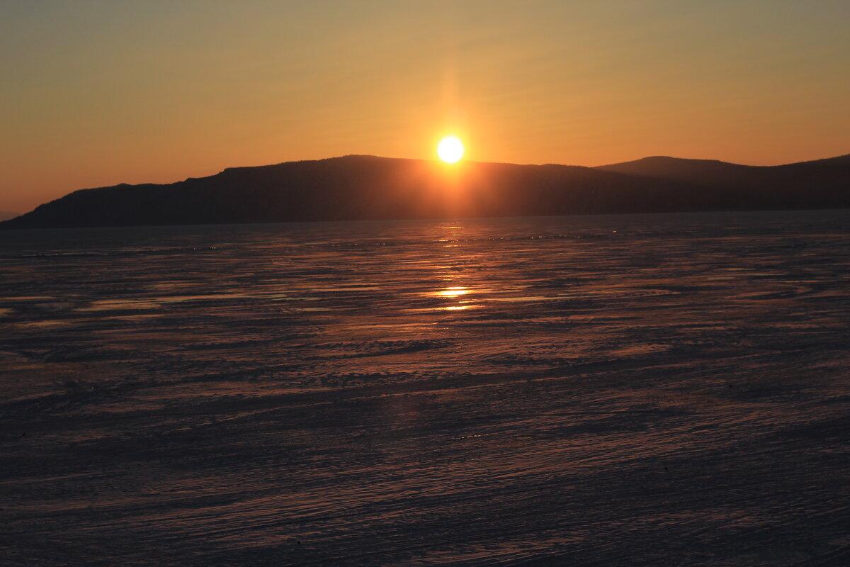 Закат на Байкале. - Андрей