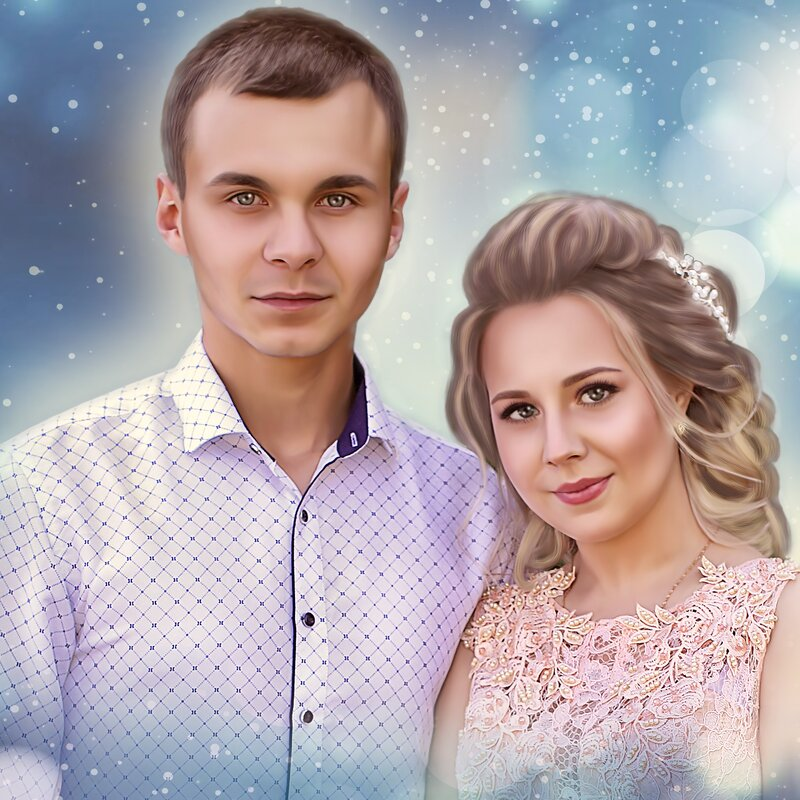 Красивая пара - Nadin