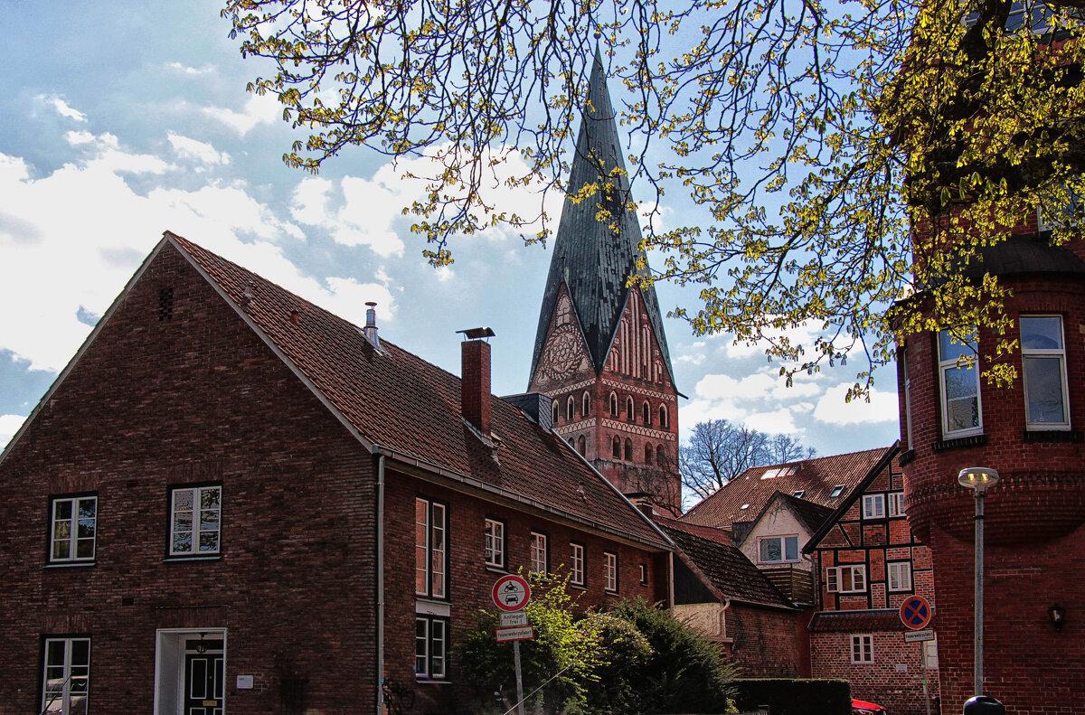 Шпиль церкви св. Иоанна в Люнебурге - Nina Karyuk