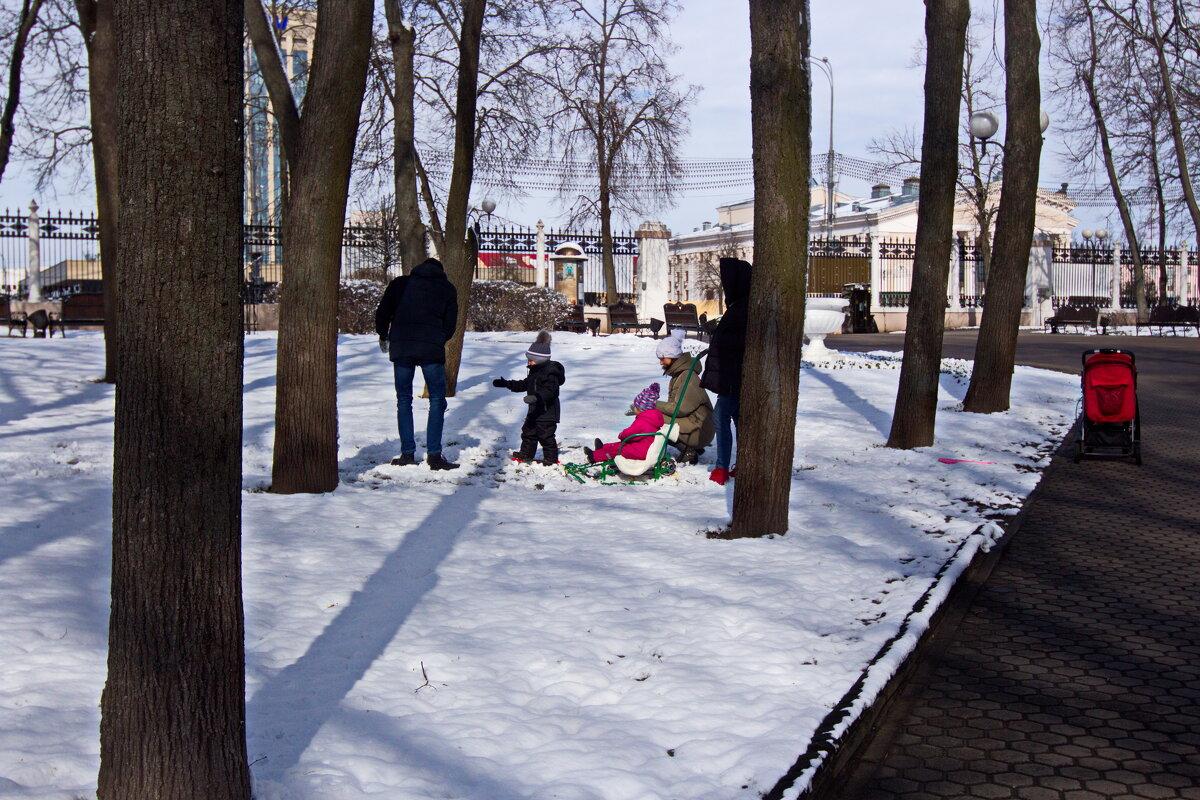 По последнему снегу... Прощай зима... - Владимир Зырянов