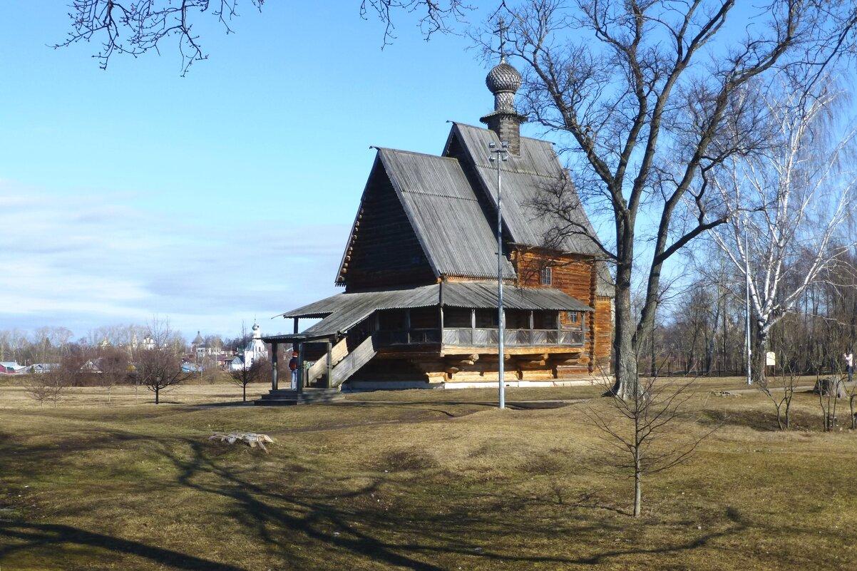 Никольская церковь из села Глотово - Лидия Бусурина