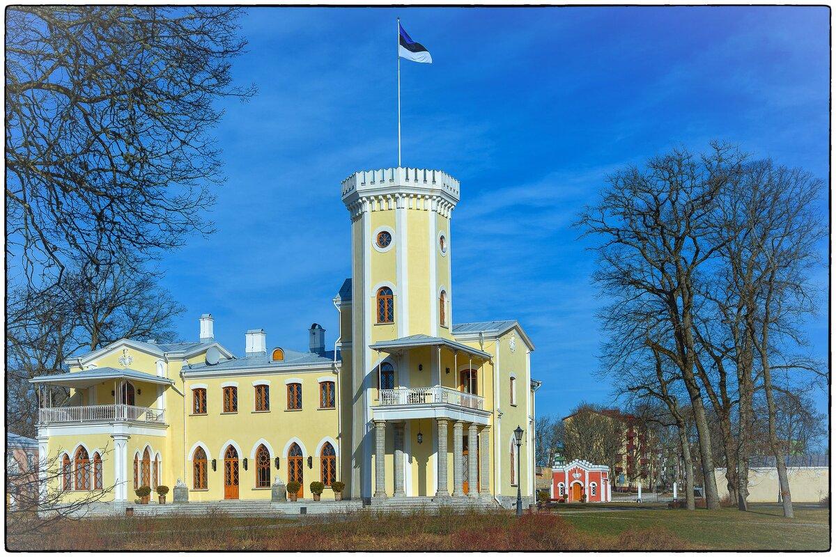 Замок SCHLOSS FALL в Кейла Йоа. - Jossif Braschinsky