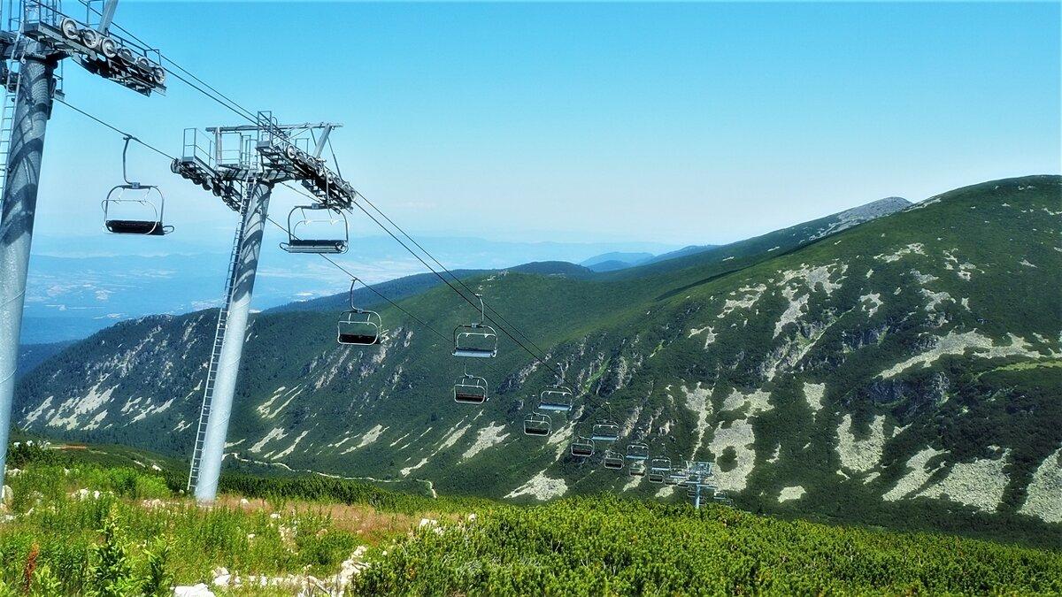 Болгария Горы Рила Лифт Маркуджик-2 высота 2486м - Swetlana V