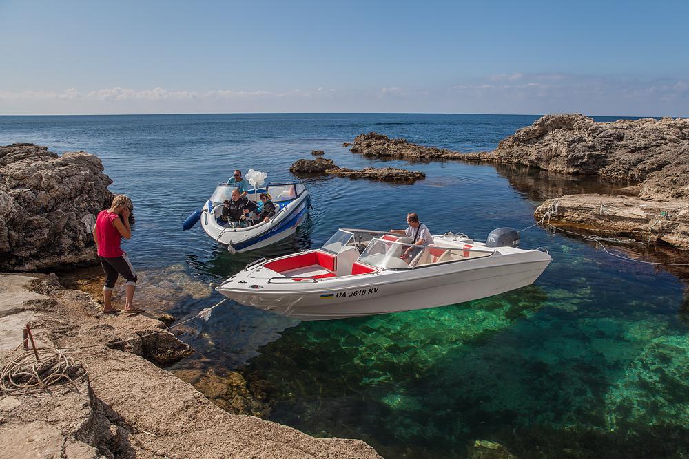 отдых в крыму на лодке