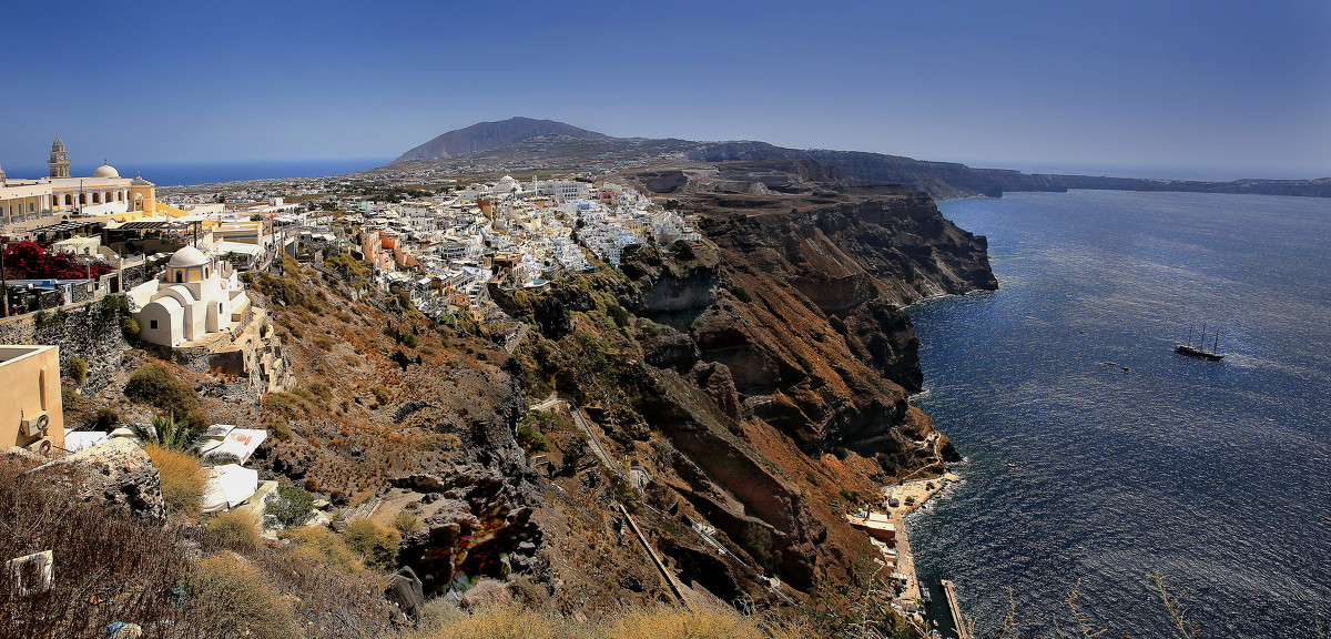 столица острова санторин.греция - юрий макаров