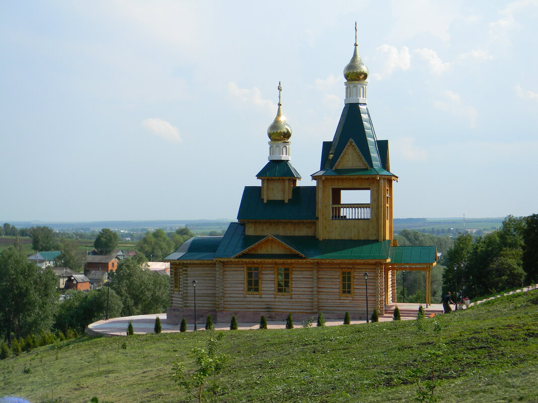 Церковь Николая Чудотворца у Дальней пустыни. - Алексей