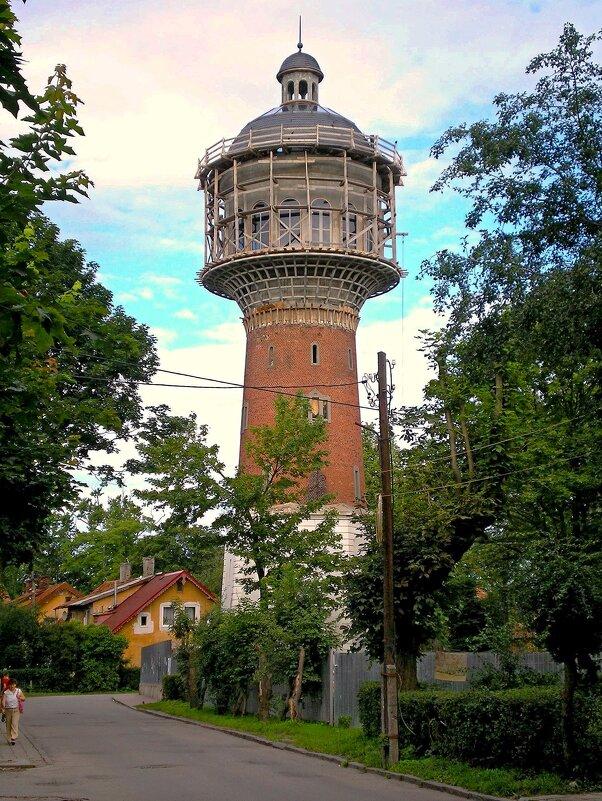 Водонапорная башня - Сергей Карачин