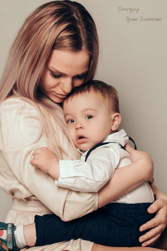 Студийная семейная съёмка - Ирина Клаптенко