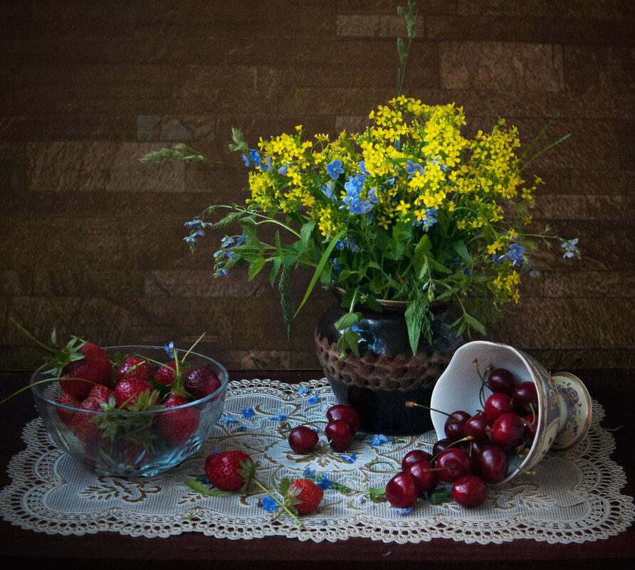 про цветы и фрукты - Виктория Колпакова