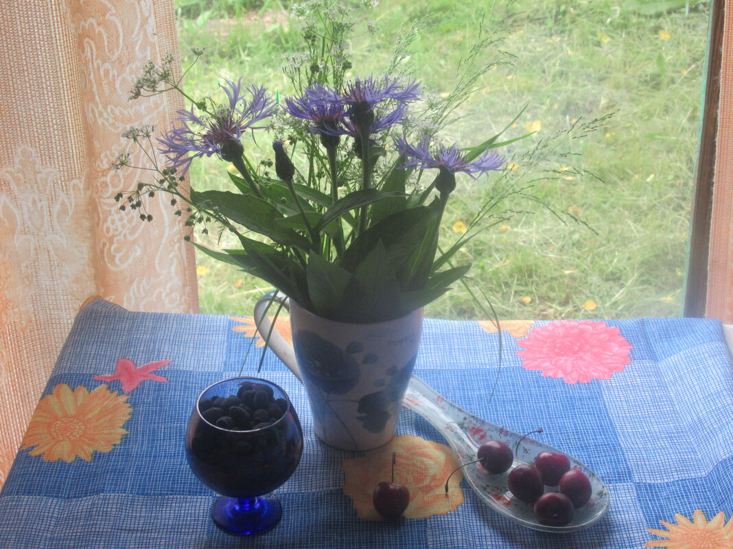 Утро в саду - Лариса