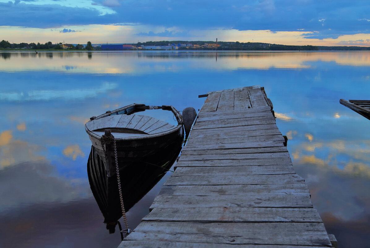 Белые ночи на Логмозеро - Сергей