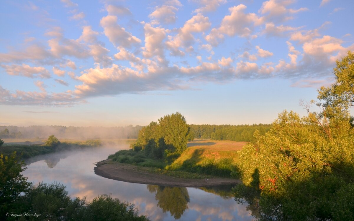 Дыхание раннего утра - Татьяна Каневская