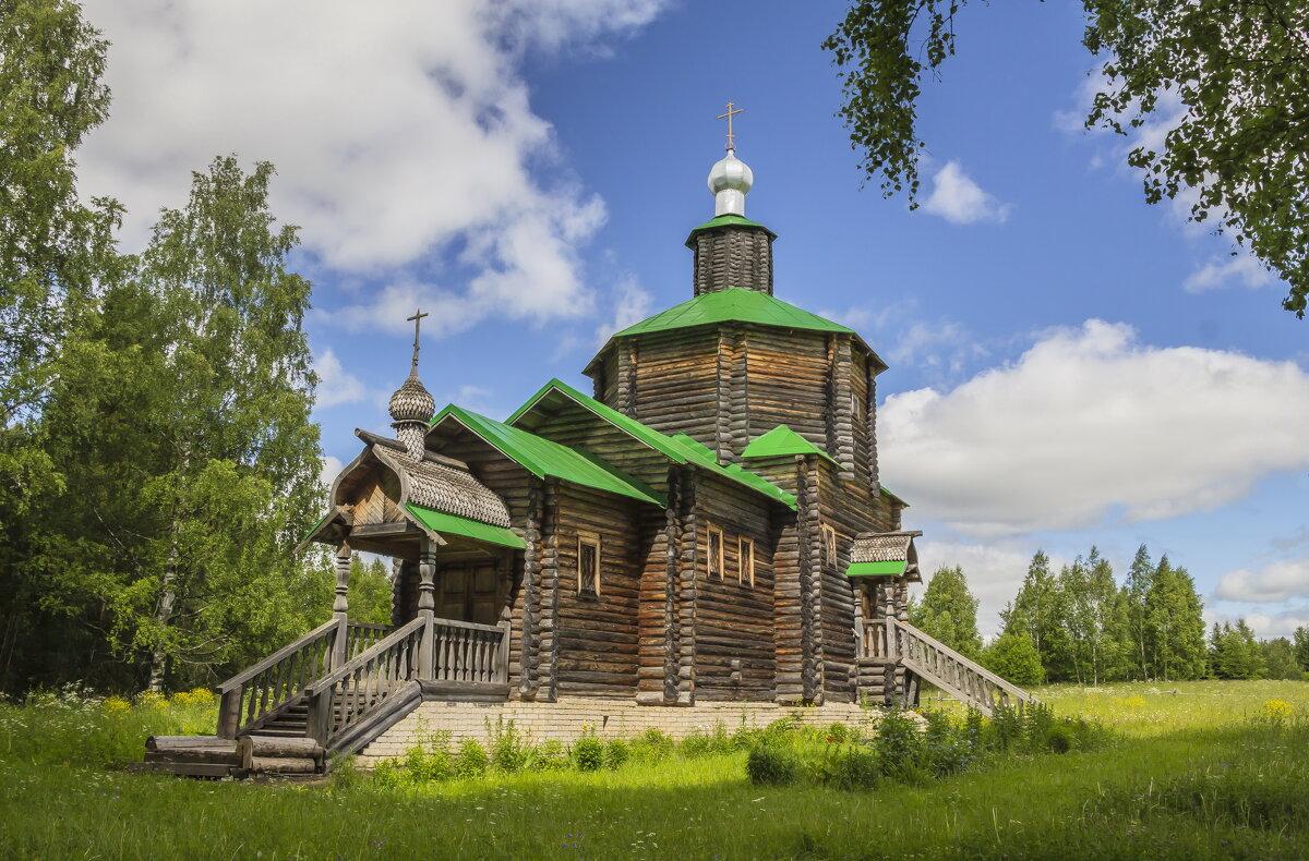 Церковь Иоанна Предтечи - Галина Новинская