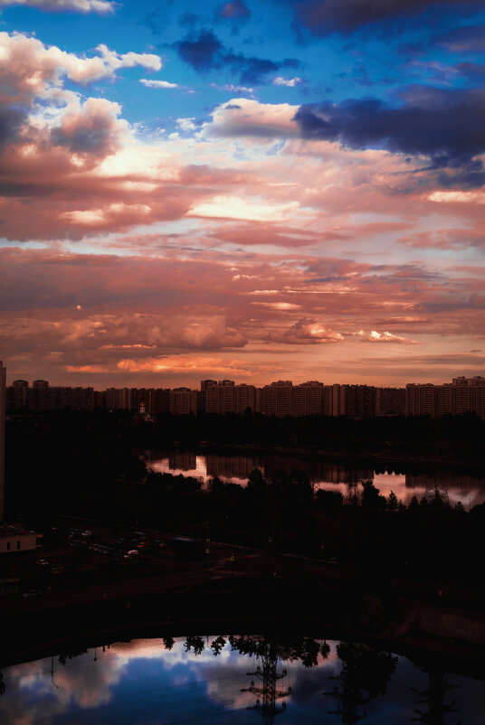 ..закат над городом - Pasha Zhidkov