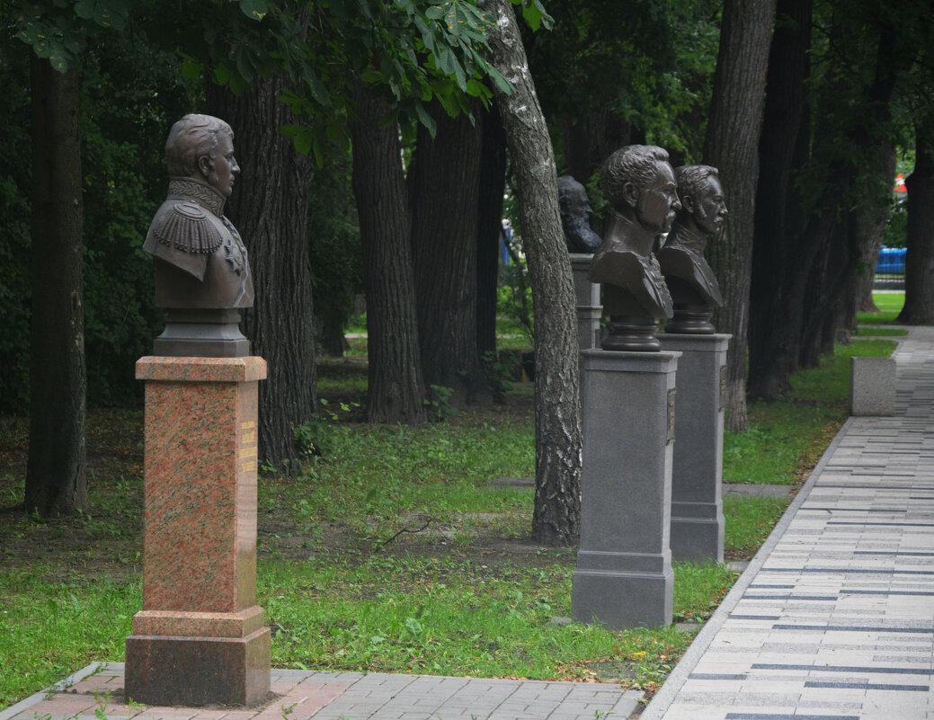 Аллея знаменитых рязанцев - Александр Буянов