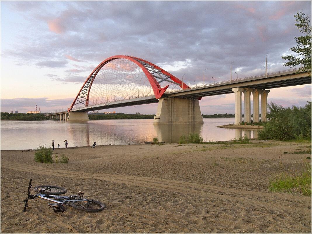 Бугринский мост в июле 2020. - aWa