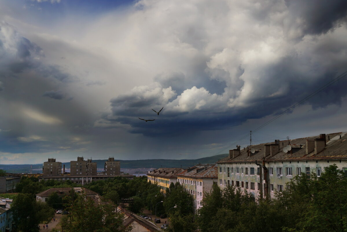 Хмурое небо..... - Анна Приходько