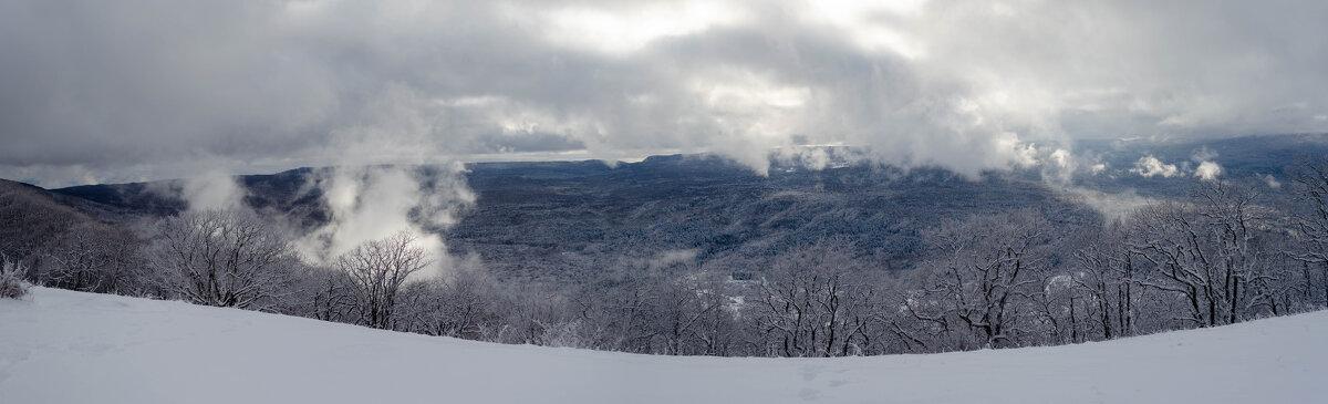 Зимняя панорама п.Мезмай - Александр Светлый