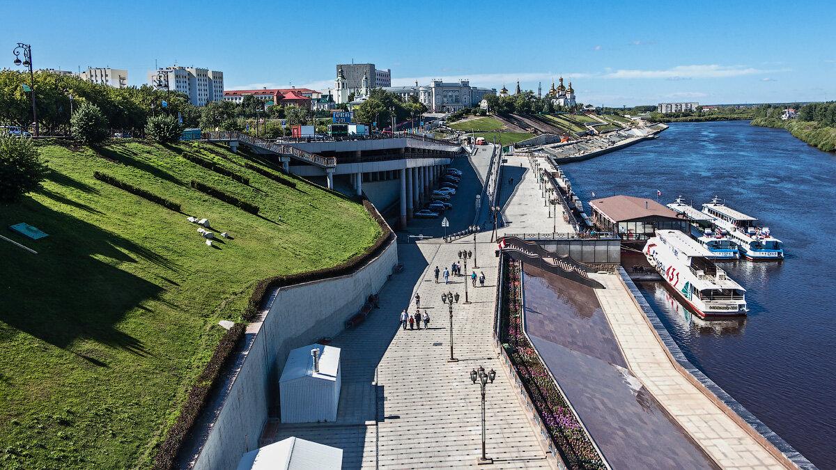 Набережная реки Тура - Vladimir Dunye