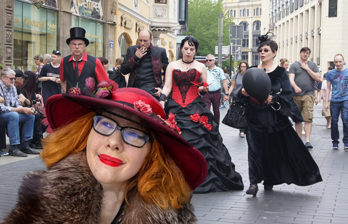 Стрит фотография ( Лейпциг ) - irina Schwarzer