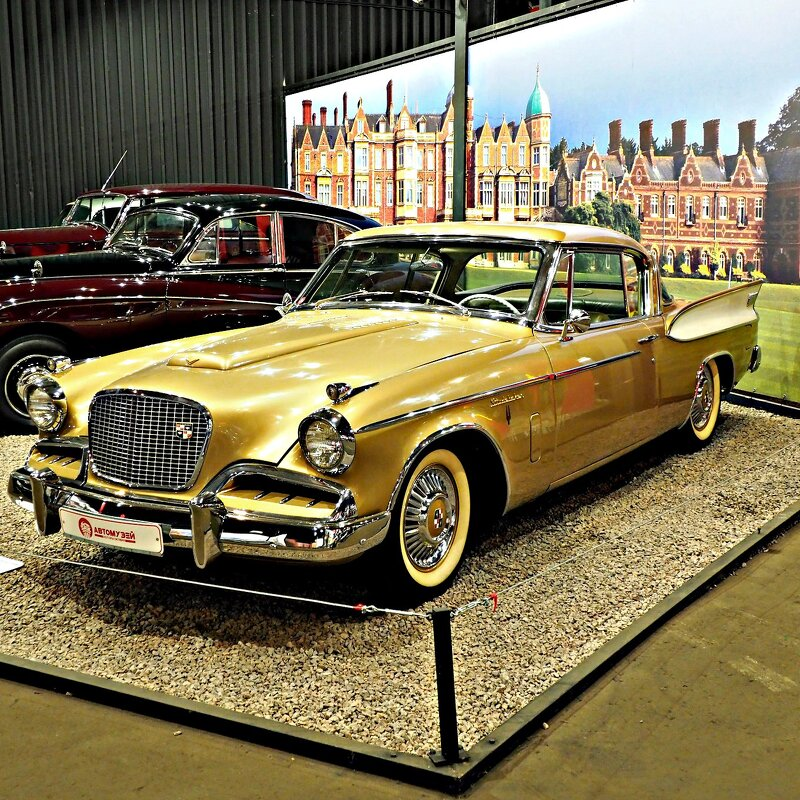 Studebaker Golden Hawk, 1957 год. - Zeitgeist Owl