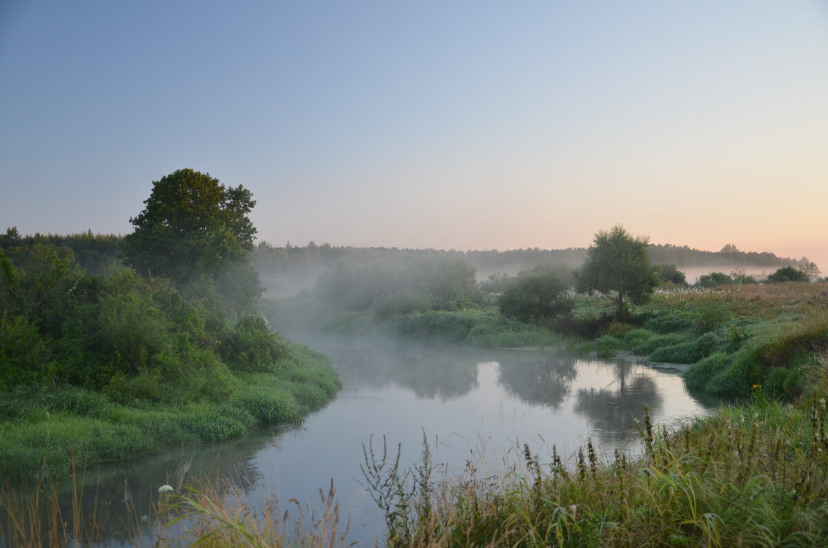 Туман над рекой - demyanikita