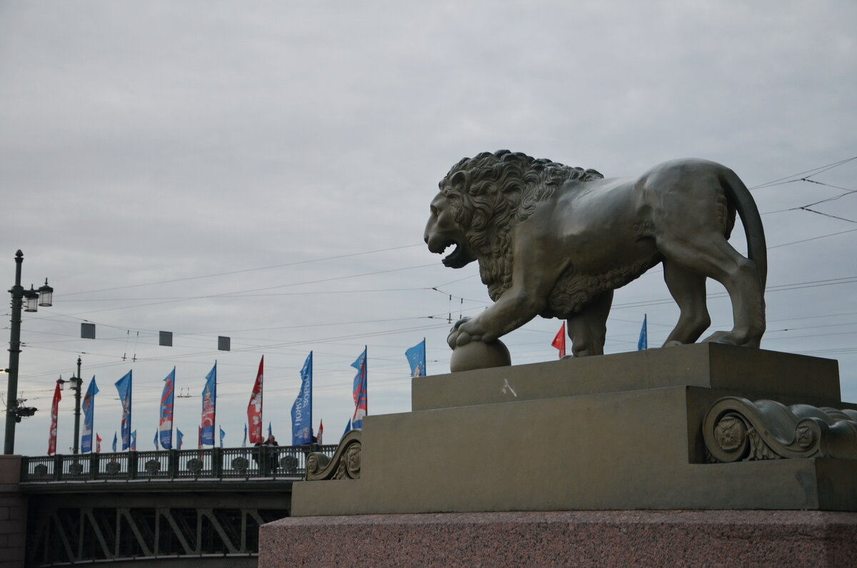 Питерский лев - demyanikita