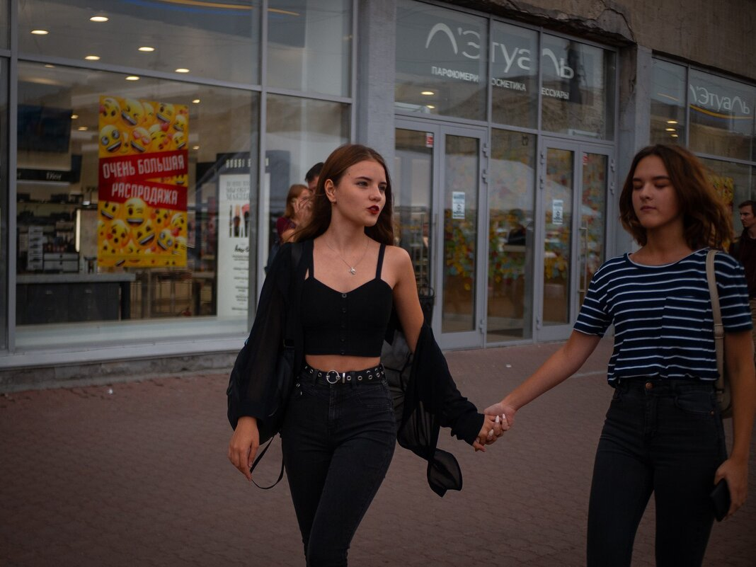 На улицах города - Елена Берсенёва