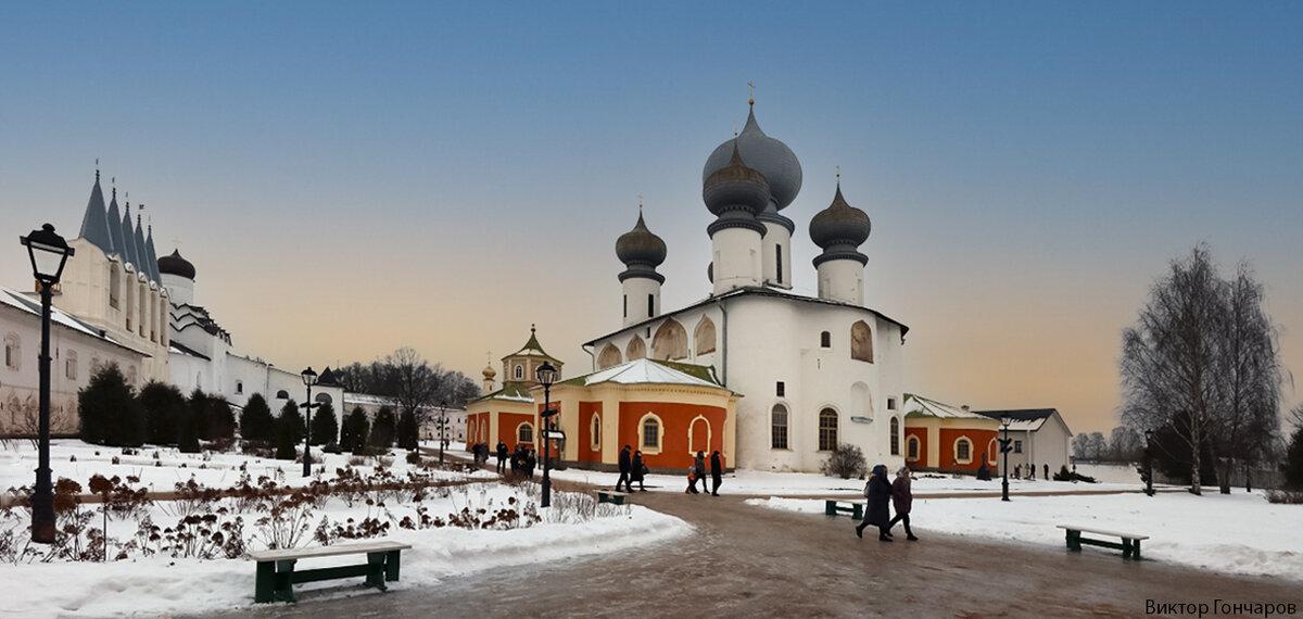 Тихвинский Богородичный Успенский мужской монастырь - Laryan1