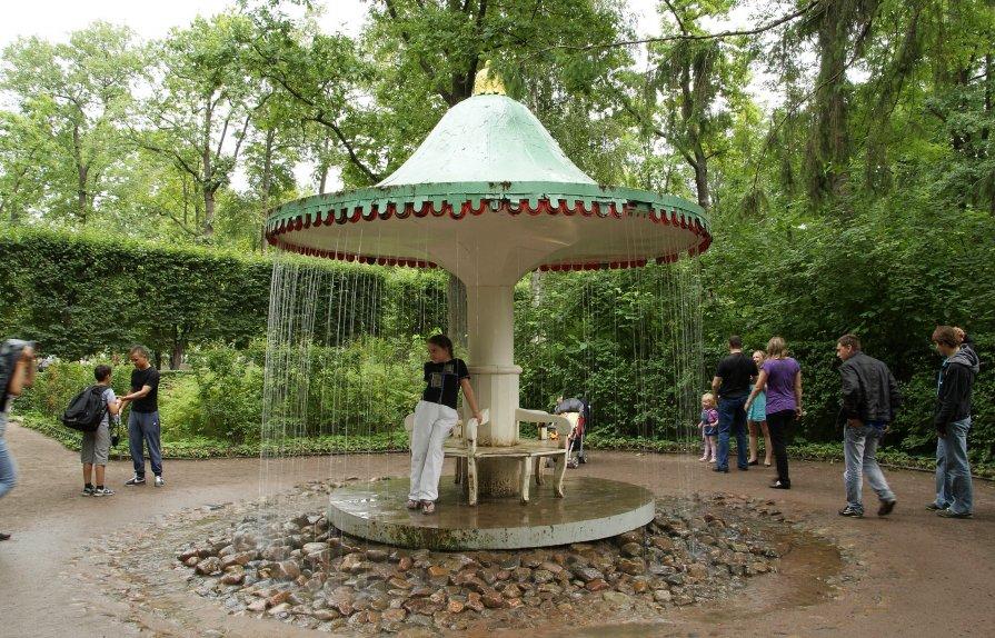 фонтан Грибок (Петергоф) - Алексей Кудрявцев