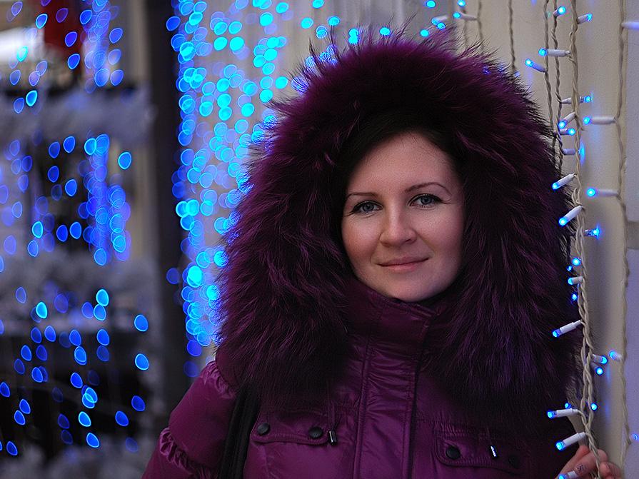 В синем сиянии... - Олег HoneyPhoto