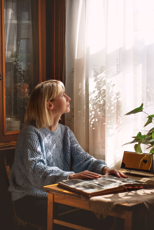 Листая старый альбом... Татьяна. (Апрель) - Елена Струкова