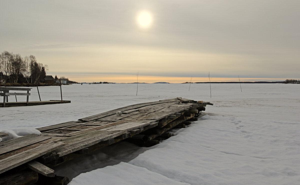Весна на Белом море - skijumper Иванов