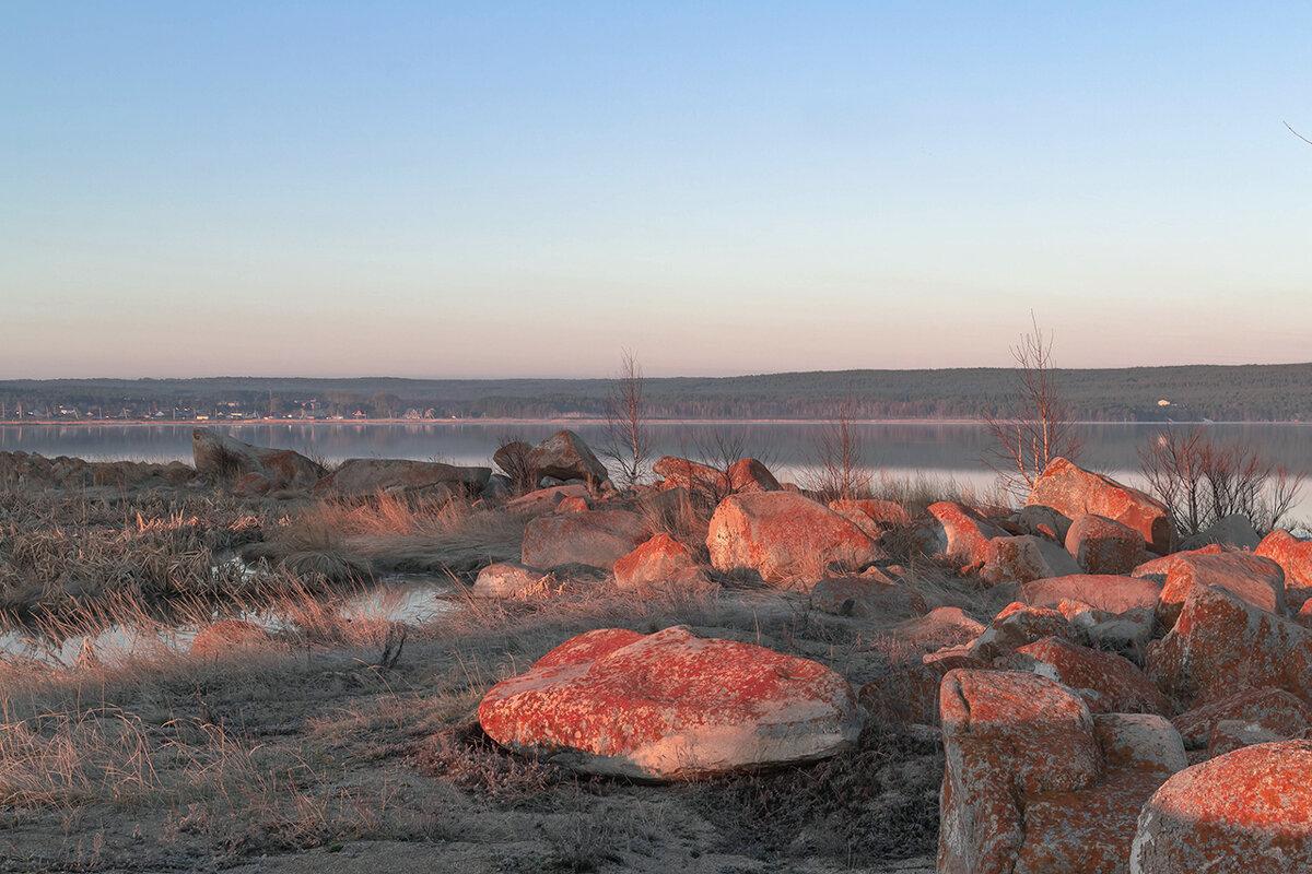 утро на озере - Пётр Холоша