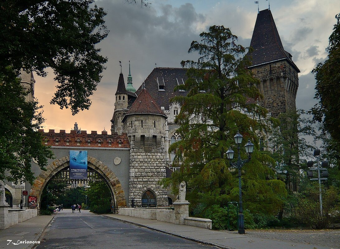 Замок Вайдахуняд .Будапешт - Татьяна Ларионова