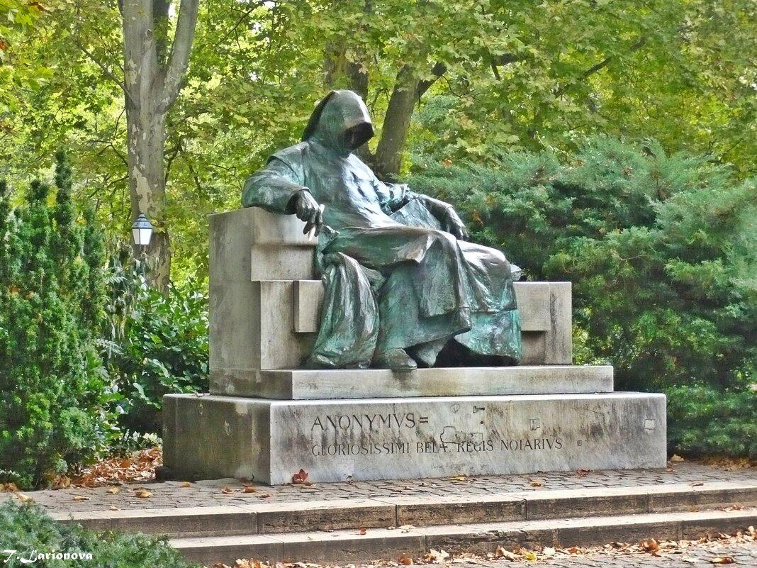 Скульптура Анонимуса. Будапешт - Татьяна Ларионова