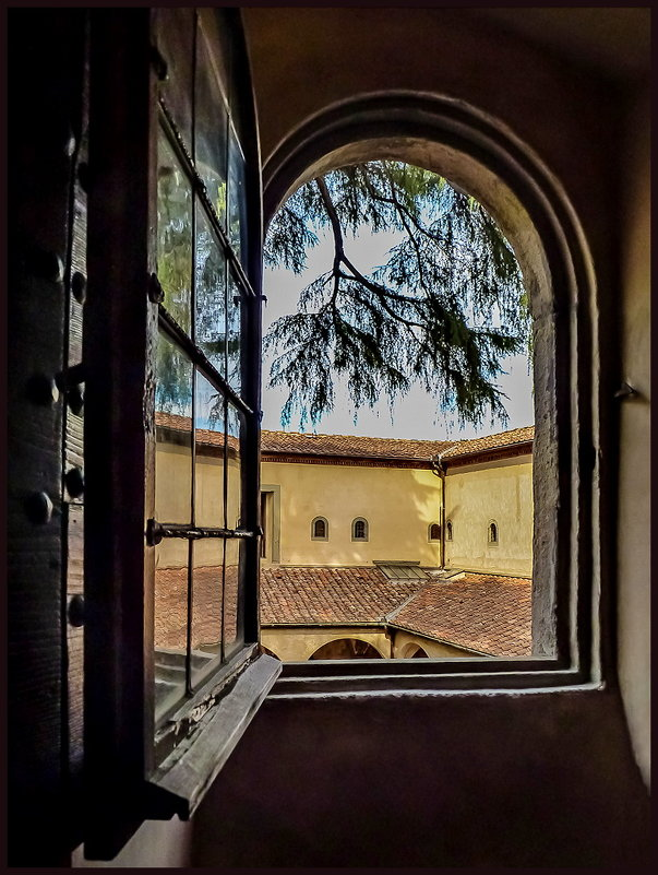Вид из окна кельи монаха - Наталья Rosenwasser