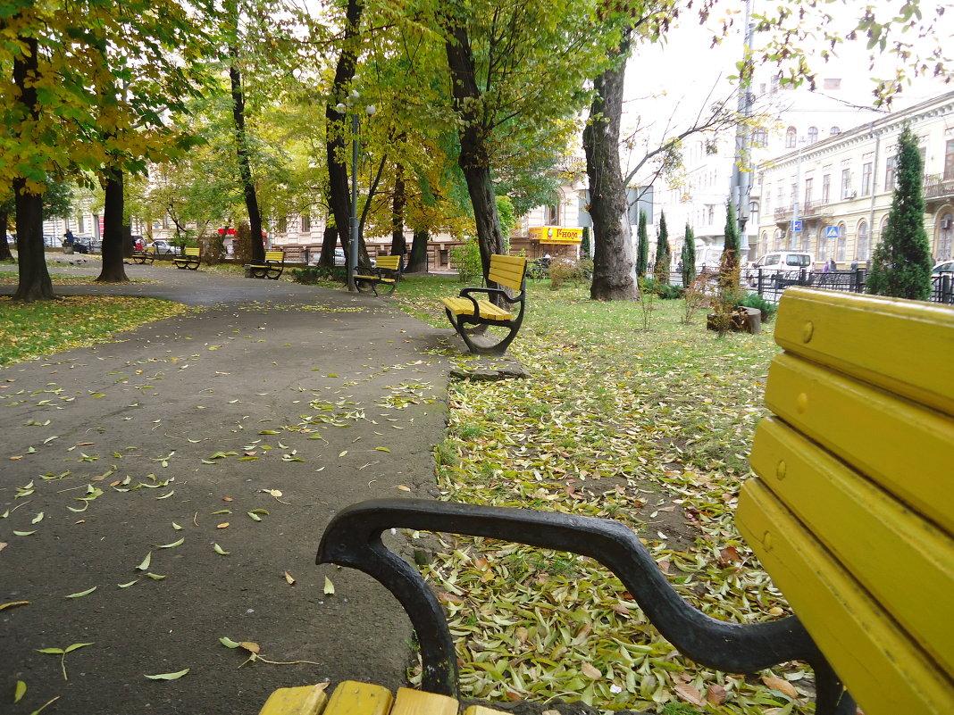 Спокойная осенняя обстановка, в которой время как будто останавливается... - Christina Batovskaya