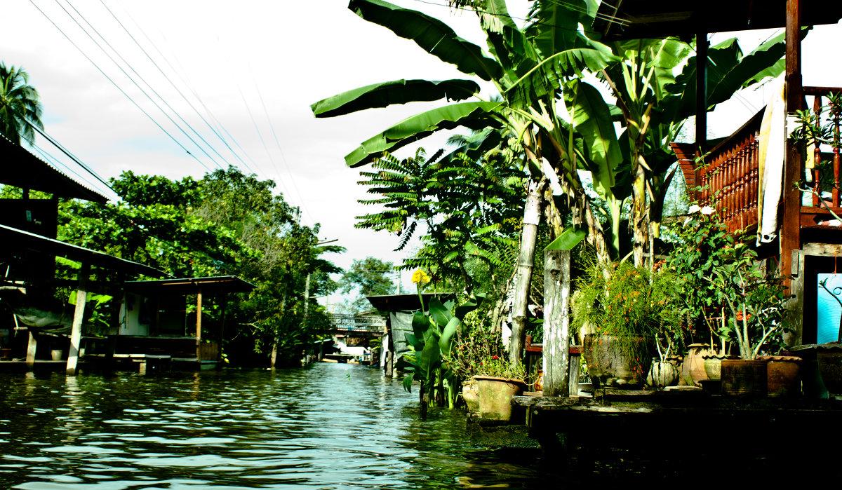 рыбацкая деревня на реке кай