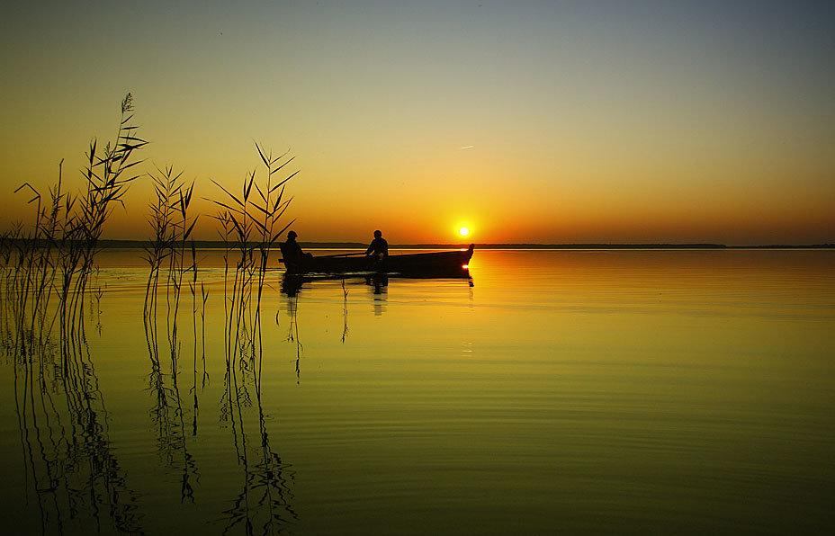 пейзажи про рыбалку