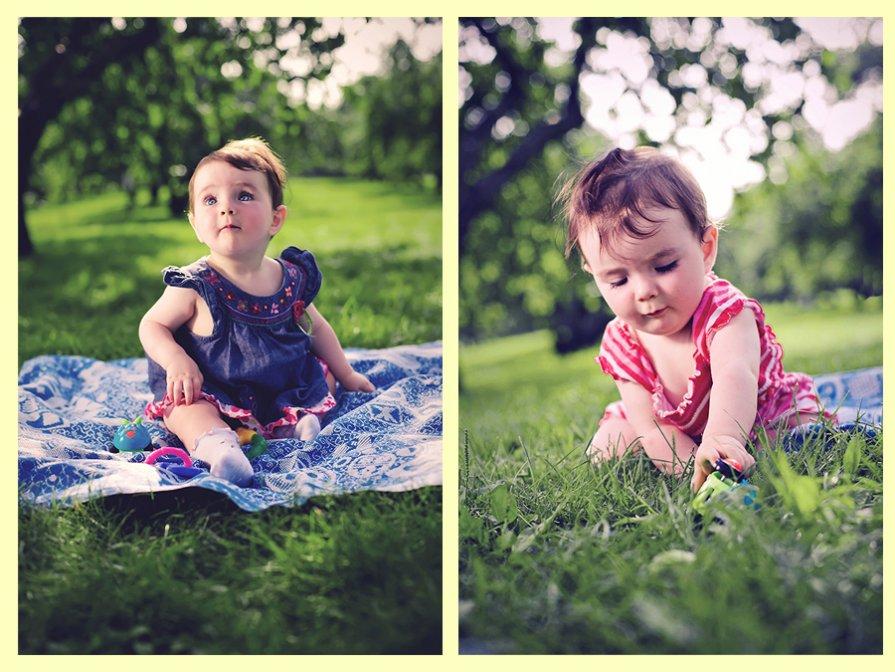 маленькая Лиза (6 месяцев) - Николай Гавриков