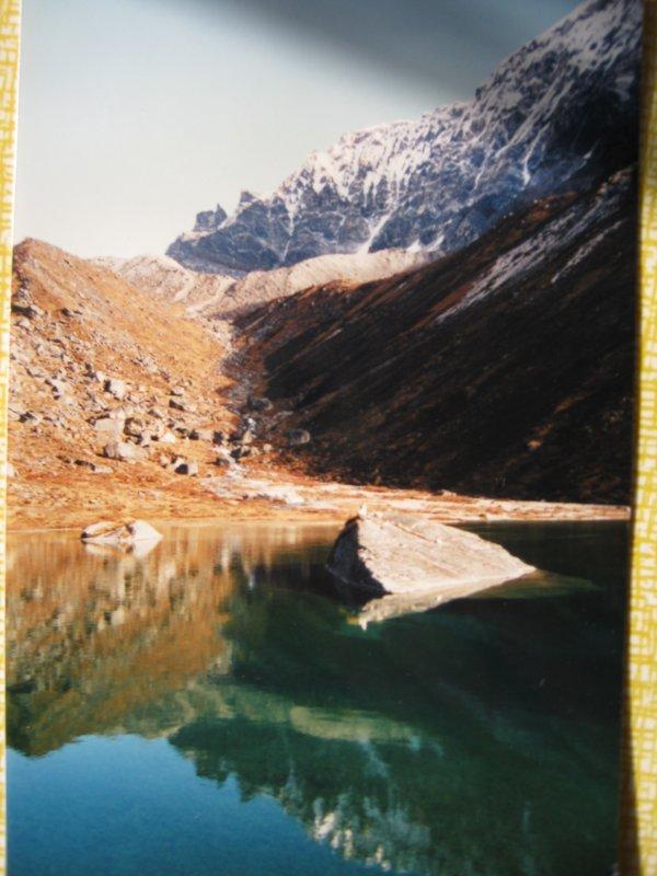 Горное озеро в Гималаях - Ирина Березкина