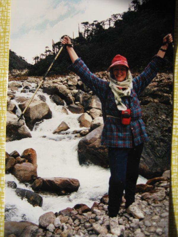 Тибет переправа через горную реку - Ирина Березкина