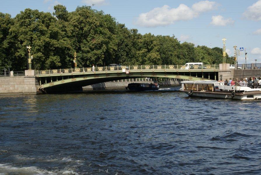 Пантелеймоновский мост - Алексей Кудрявцев