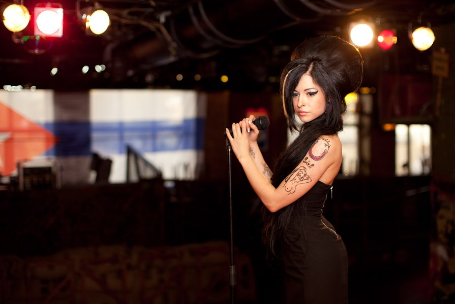 "Amy Winehouse, проект ""Клуб 27"" - Оксана Хикматулина"